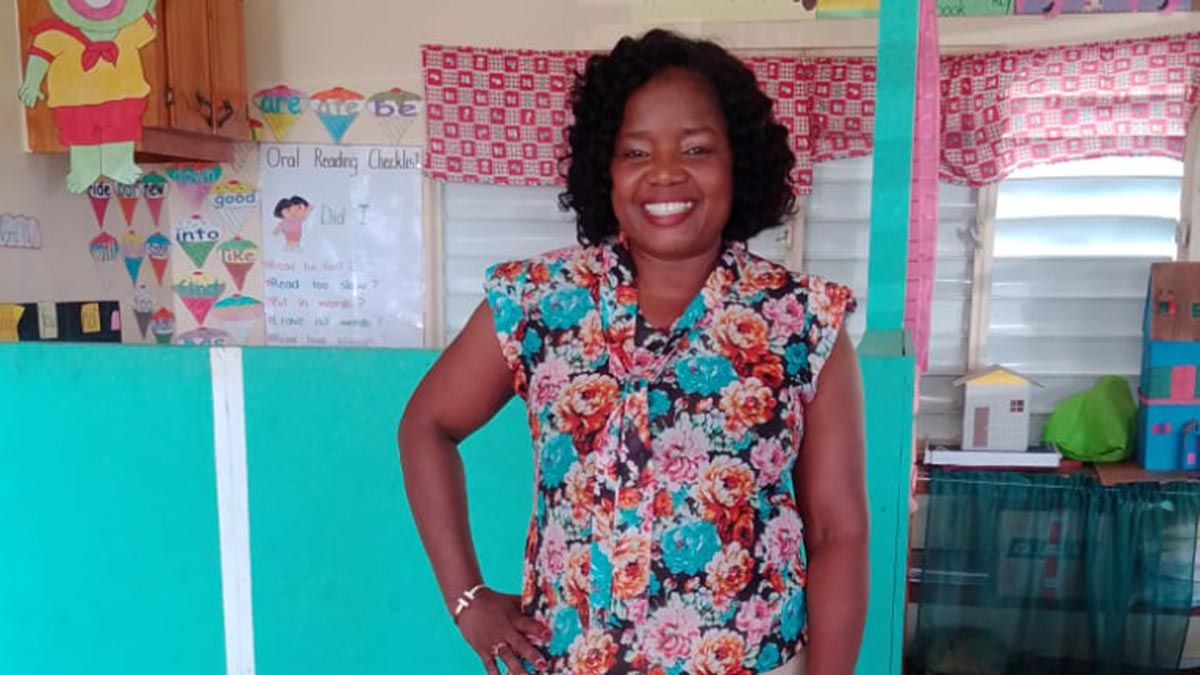 Thuvia Brown Destination Guardian and St. Kitts School Teacher